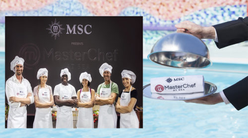 MSC Cruzeiros inova com o MasterChef At Sea a bordo