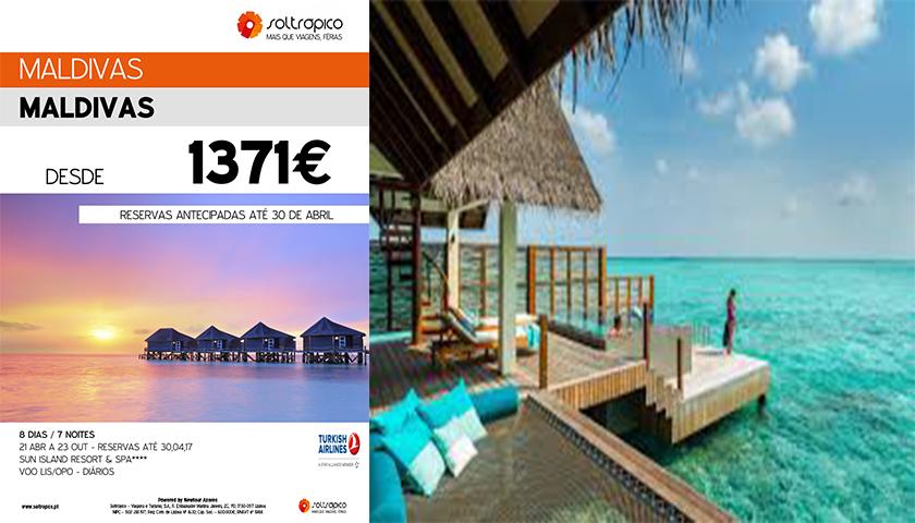 Férias nas Maldivas com a Soltrópico