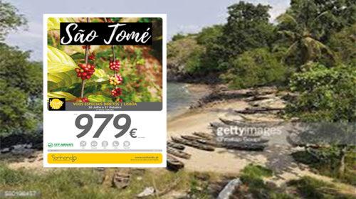 Sonhando está a propor férias aliciantes em São Tomé