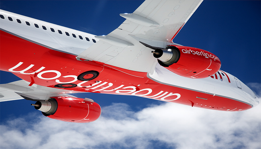 Air Berlin inicia processo de insolvência