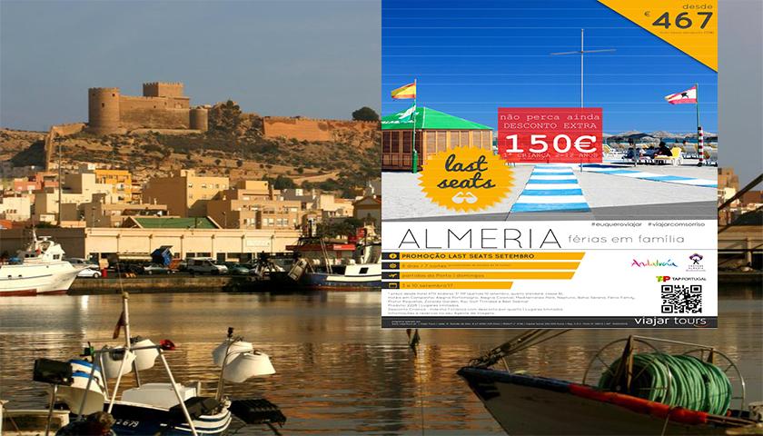 Viajar Tours oferece Almeria em campanha especial