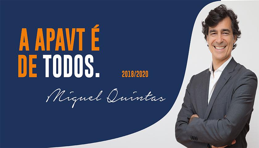Miguel Quintas apresentou programa de candidatura à presidência da APAVT