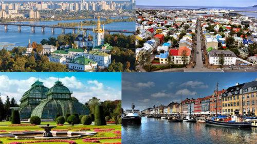 As cidades mais caras e baratas para o turista