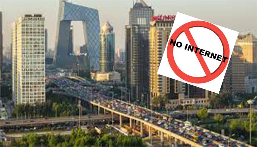 China proíbe acesso à internet em hotéis de marca internacional