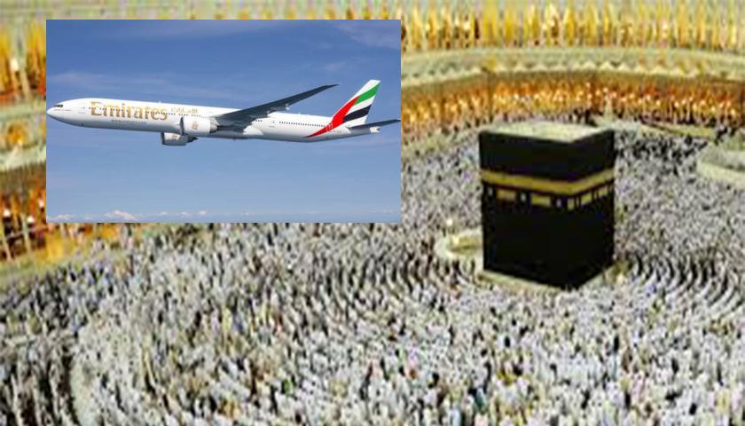 Emirates com voos extra para o próximo Hajj