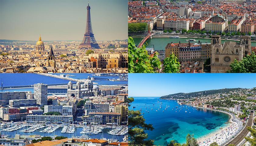 França continua na primeira posição como destino turístico favorito