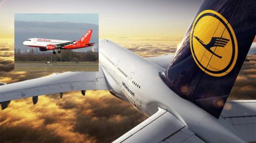 Lufthansa e governo alemão apoiam a reestruturação da airberlin