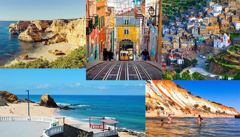 Praia e Portugal são o destino de férias dos portugueses