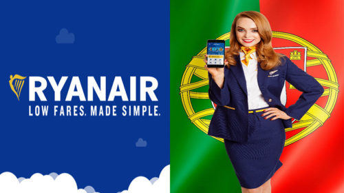 Ryanair lança a nova app portuguesa