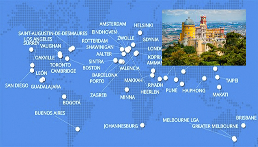 Sintra distinguida pelo World Council on City Data