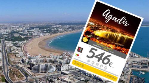 Agadir com a Sonhando em voo directo