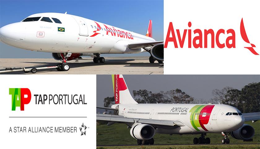 TAP e Avianca Brasil com acordo de code-share