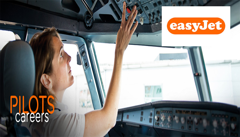 easyJet realiza roadshow em Portugal para contratar pilotos