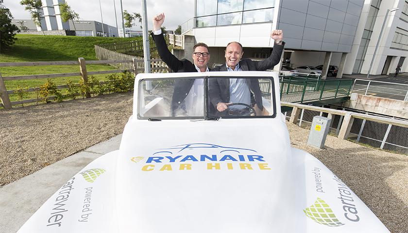 Ryanair mantém parceria com a CarTrawler