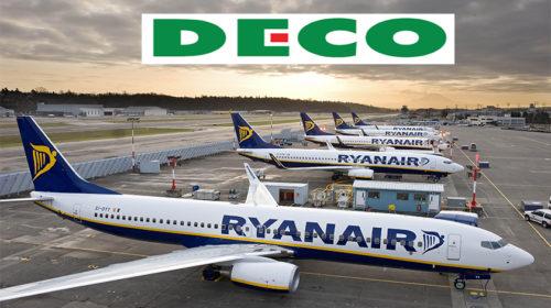 DECO diz que passageiros da Ryanair tem direito a indemnização