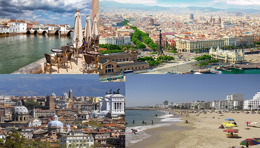 Principais destinos de viagem dos seniores portugueses