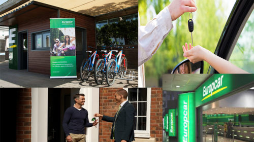 Europcar com serviço de entregas e recolhas em 30 estações