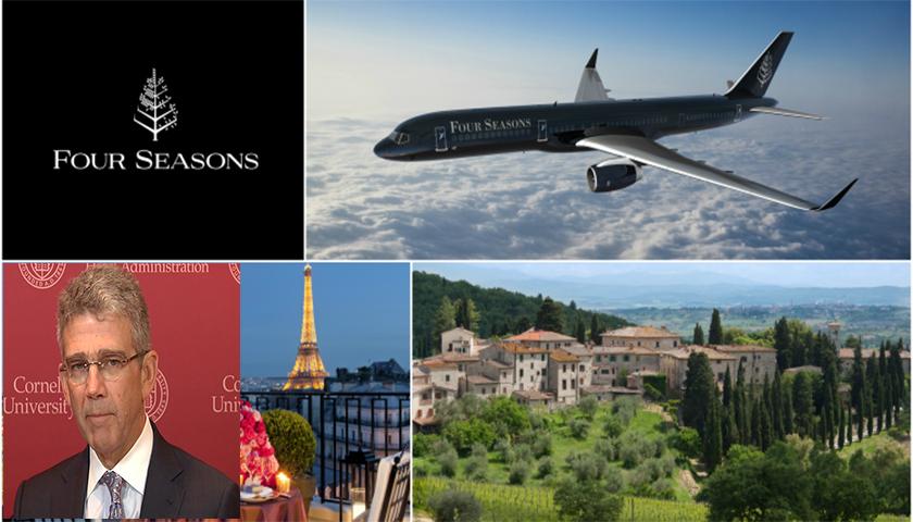 Four Seasons anuncia novo itinerário em jacto privado