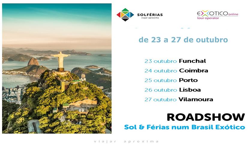 Solférias e Exoticoonline realizam workshop sobre o Brasil