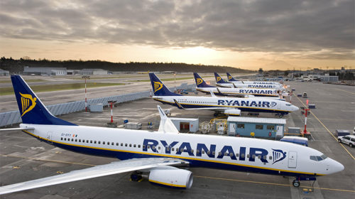 Ryanair apresentou o seu horário de verão