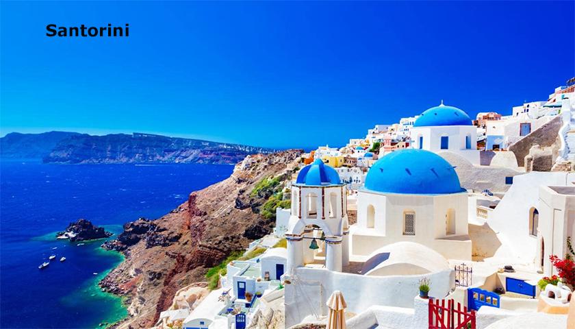 Santorini quer limitar acesso de turistas