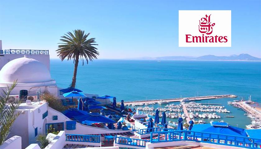 Emirates começa a voar diariamente para Tunes