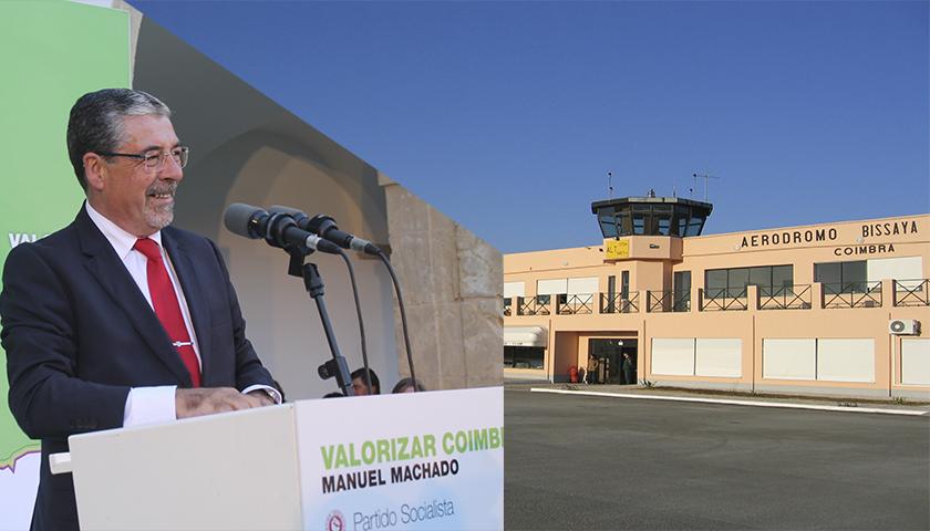 """Coimbra """"teima"""" em ter um aeroporto internacional"""