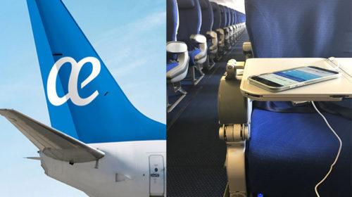 Air Europa instala na sua frota Airbus 330 entradas USB