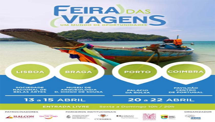 Feira das Viagens muda de espaço em Lisboa e estreia em Braga