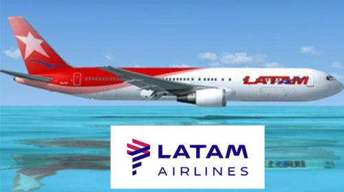 Grupo LATAM vai voar para/de Lisboa em 2018