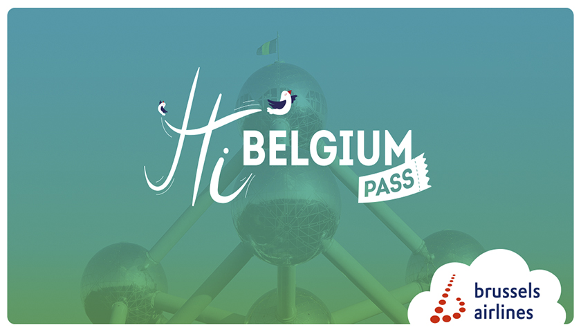 Brussels Airlines expande o Hi Belgium Pass
