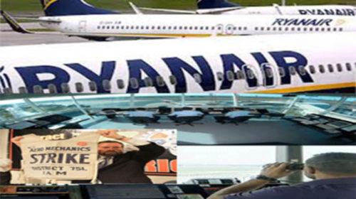 Ryanair: Tripulantes de cabine agendam greve