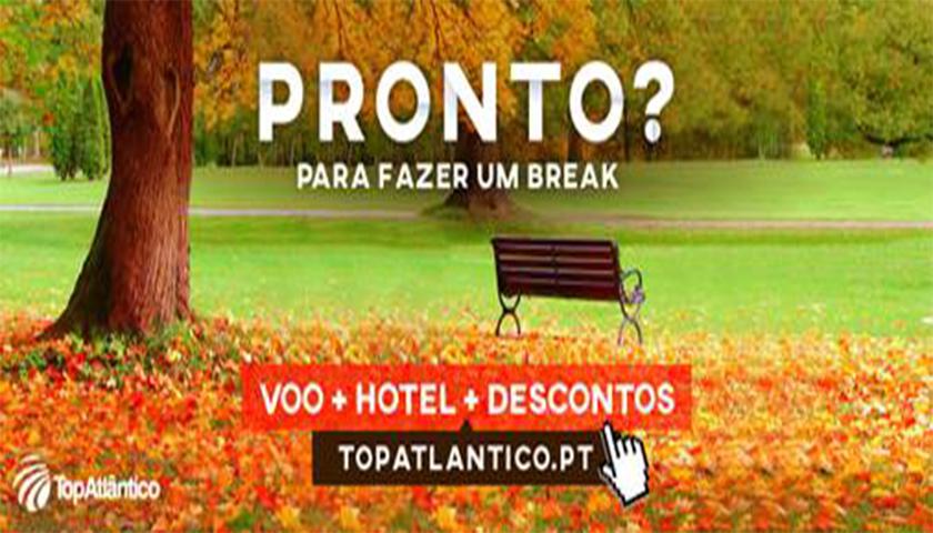"""TopAtlântico lança campanha """"Breaks de Outono"""""""