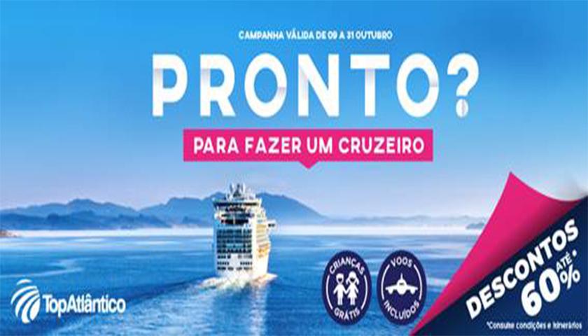 TopAtlântico lança campanha de cruzeiros