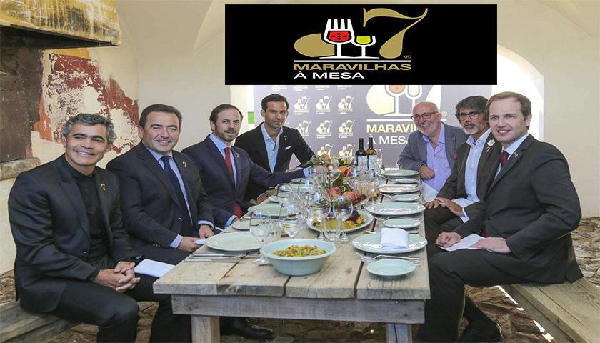 7 Maravilhas sentam Portugal à Mesa