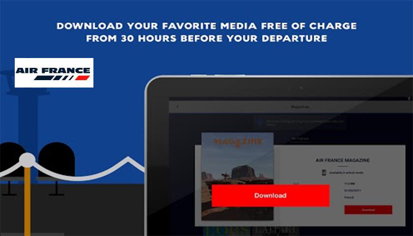 "Air France: cai o ""Press"" e viva o ""Play"""