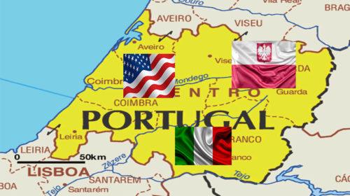 Centro de Portugal cativa polacos, italianos e americanos