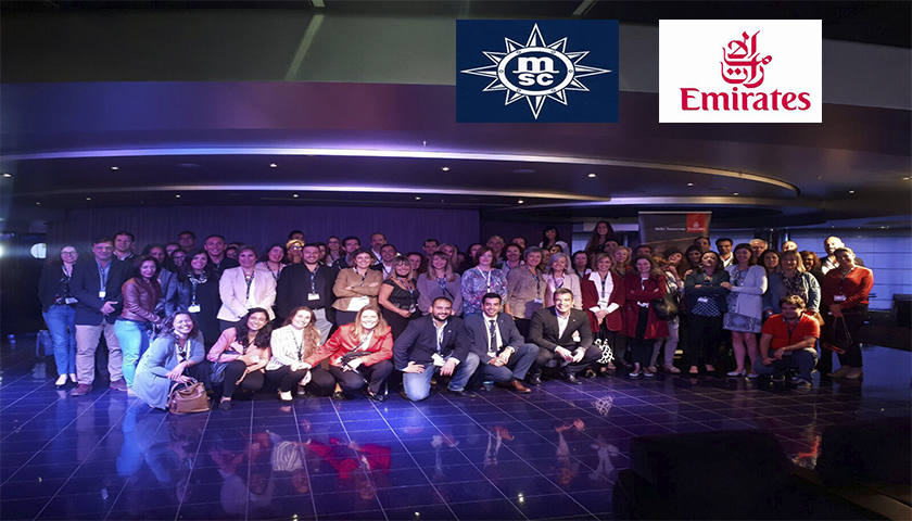 MSC Cruzeiros e Emirates reforçam parceria