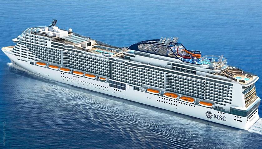 MSC Cruzeiros avança com dois dos seus quatro novos navios