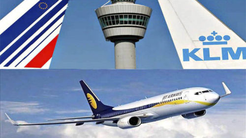 AIR FRANCE-KLM E JET AIRWAYS ASSINAM ACORDO