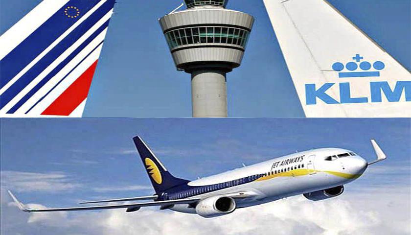 AIR FRANCE-KLM E JET AIRWAYS ASSINAM ACORDO