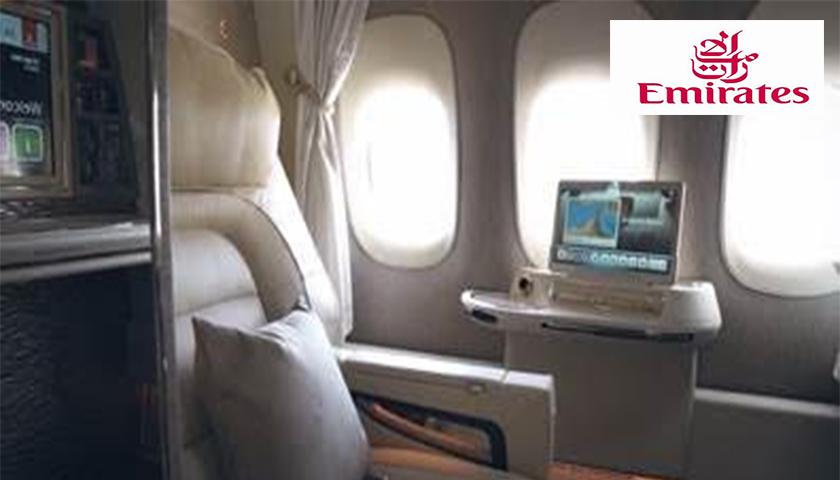 BOEING 777 DA EMIRATES COM NOVAS CABINES