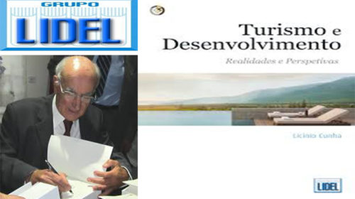 """""""TURISMO E DESENVOLVIMENTO"""": NOVO LIVRO DE LICÍNIO CUNHA"""