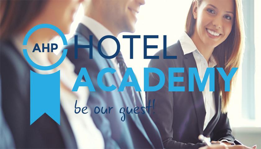 Abertas as inscrições para os cursos da AHP Hotel Academy