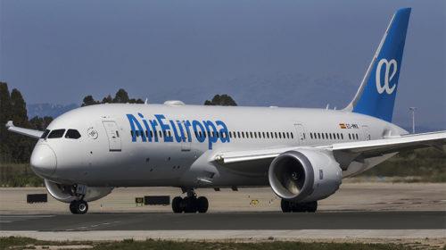 Air Europa ultrapassa o milhão de passageiros Dreamliner em 2017