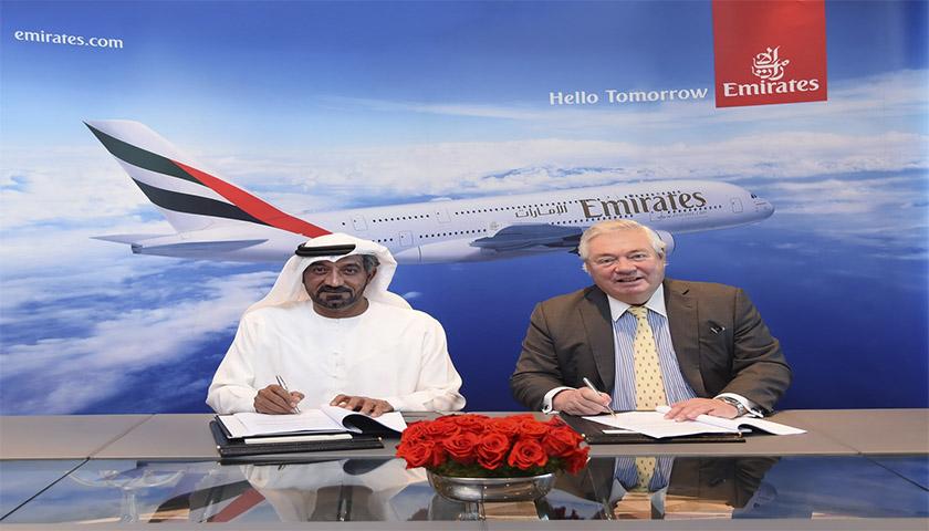 Airbus vende 20 A.380 à Emirates