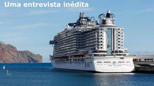 Opção Turismo entrevista o MSC Seaside