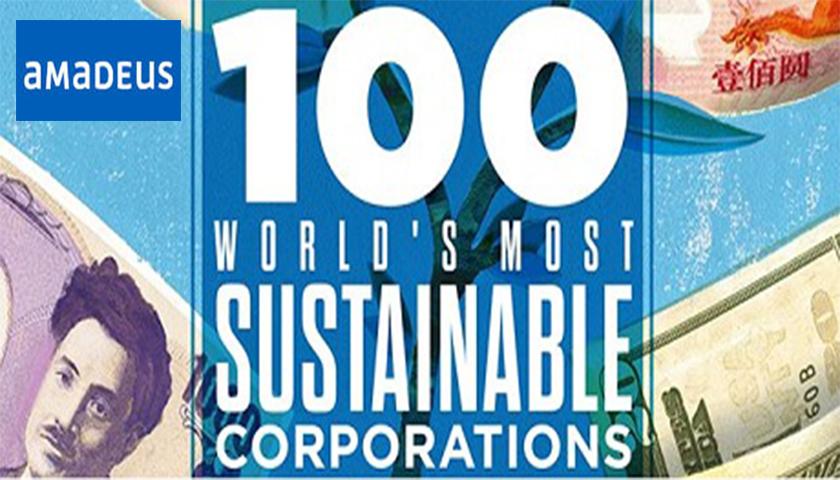 Amadeus no TOP 20 das empresas mais sustentáveis do mundo