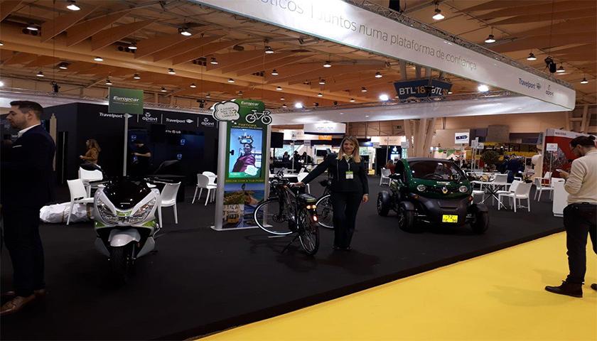 Europcar em Portugal destaca mobilidade eléctrica na BTL