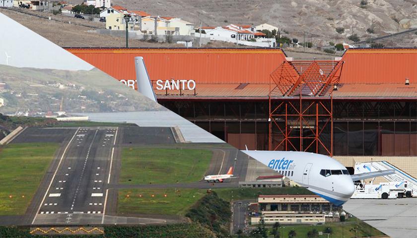 Rota aérea Madeira – Porto Santo – Madeira já tem interessados